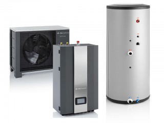 Lucht/water warmtepomp configurator (HP-S)